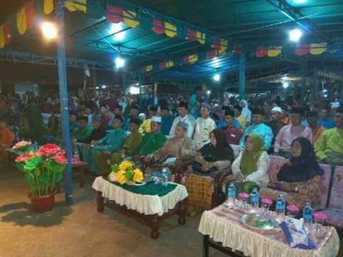 Wakil Bupati Lingga saat STQ Kecamatan Senayang di Desa Mamut