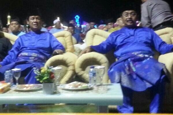 Gubernur Kepulauan Riau, Nurdin Basirun saat pembukaan MTQ ke 7 di Kabupaten Lingga