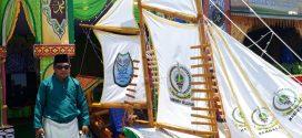 Makna  Perahu Layar Didepan Stand Bazar Kecamatan Singkep Selatan