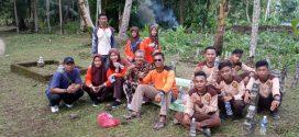 BPBD Lingga Serah Bantuan Sosial Pada Anak Pramuka Daek