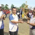 Wakil Bupati Lingga Buka Kajurda Sepakbola U.15 Tingkat Propensi