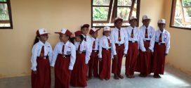 12 Orang Murid Resmi Terdaftar  Kelas Jauh SDN.005  Ditanjung Sebayur Kecamatan Singkep Barat.