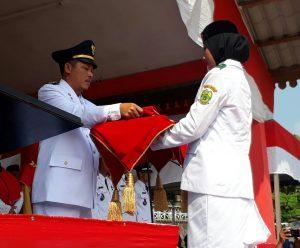 Upacara HUT RI Ke 74  Kecamatan Selayar Lancar dan Penuh Hikmat