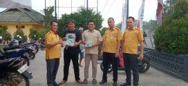 Selain Di Dabo Singkep.PWI Lingga, Juga Membagi – Bagikan Masker Di Ibu Kota Kabupaten