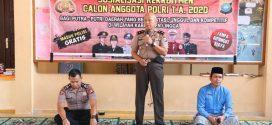 Polres Lingga Sosialisasi Rekrutmen Calon Anggota Polri Tahun 2020