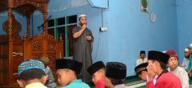 Wabup Lingga Gelar Ahad Taqwa Bersama Masyarakat Desa Linau