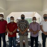 Bupati Lingga Temui Staf Ahli Kementerian PPN